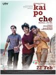 Sushant Singh Rajput, Raj Kumar Yadav and Amit Sadh starrer Kai Po Che! Movie Poster 2