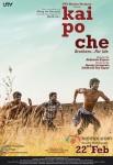 Sushant Singh Rajput, Raj Kumar Yadav and Amit Sadh starrer Kai Po Che! Movie Poster 4