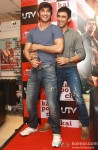 Sushant Singh Rajput and Amit Sadh At 'Kai Po Che!' Apparel Collection Launch