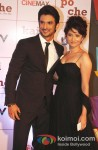 Sushant Singh Rajput with Ankita Lokhande at 'Kai Po Che!' Movie Premiere