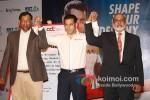 T. Krishnakumar, Salman Khan And P. Rajendra at the launch of partnership of 'Career Development' Pic 1