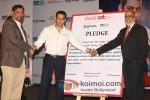 T. Krishnakumar, Salman Khan And P. Rajendra at the launch of partnership of 'Career Development' Pic 2
