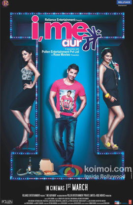 I Me Aur Main Movie Poster