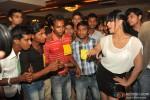 Veena Malik gets kissed by 100 men on her birthday Pic 1