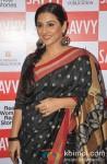 Vidya Balan unveils Savvy Magazine's Cover Pic 2