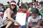 Vidya Malavade at Rouble Nagi's art camp