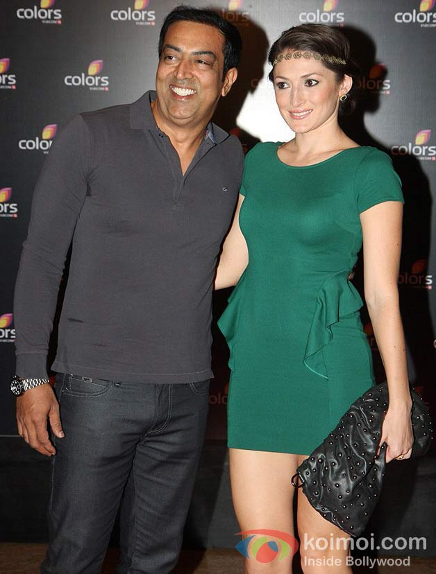 Vindo Dara Singh at the 4th Anniversary Party of Colors Channel
