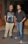 Vishal Dadlani and Shekhar Ravjiani at IPL Press Meet