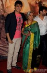 Vivek Obeoir and Yashodhara Oberoi at Premiere of Zila Ghaziabad Movie