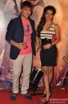 Vivek Oberoi and Charmy Kaur at Premiere of Zila Ghaziabad Movie