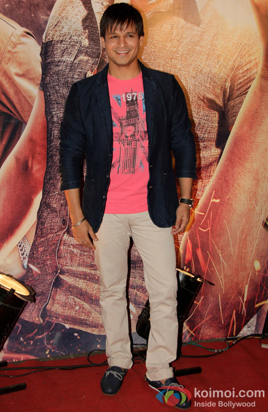 Vivek Oberoi at the premiere of film Zila Ghaziabad