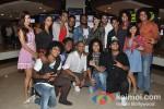 Vrushali Chavan, Dharmesh Yelande, Remo D'souza, Lauren Gottlibe, Salman Yusuf Khan And Mayuresh Wadkar at the Fame Cinemas for Dolby Atmos sound special show