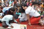 Wardha Nadiadwala at Rouble Nagi's art camp Pic 2