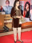 Zeenat Aman at 'Hindustan Times Mumbai's Most Stylish 2013' Awards