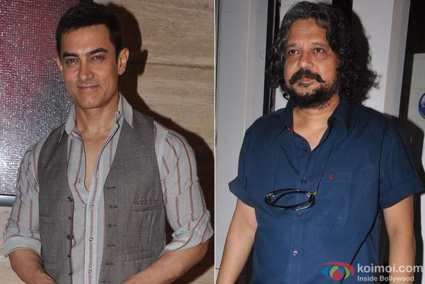 Aamir Khan and Amole Gupte