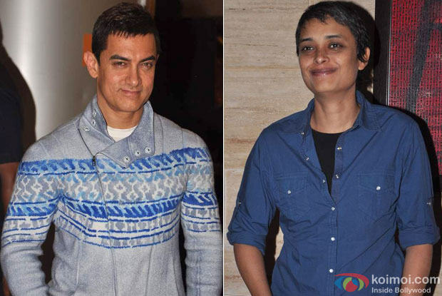 Aamir Khan and Reema Kagti