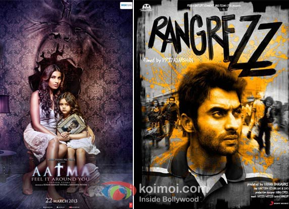 Aatma And Rangrezz Movie Poster