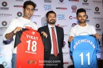 Abhishek Bachchan, Virat Kohli unveil the trophy and jersey for the charity football match Pic 5