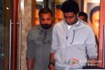 Abhishek Bachchan visit Sanjay Dutt's Residence