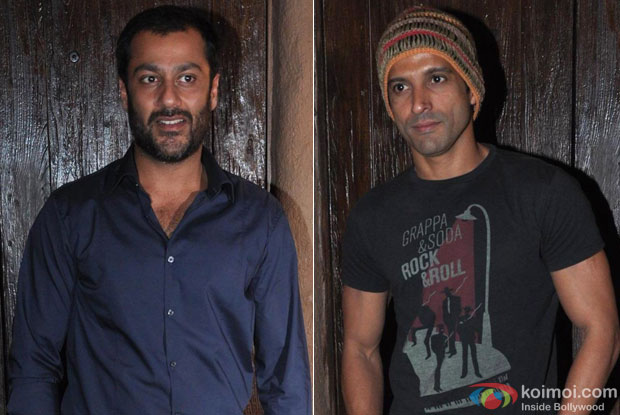 Abhishek Kapoor and Farhan Akhtar