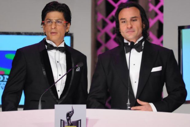 Shah Rukh Khan and Saif Ali Khan