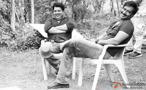 Sajid Khan and Ajay Devgn