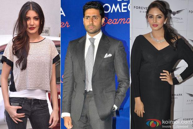 Anushka Sharma, Abhishek Bachchan and Huma Qureshi