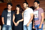 Arjun Kapoor, Priyanka Chopra, Ranveer Singh and Ali Abbas Zafar at the press meet of film 'Gunday' in Kolkata