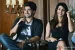 Arjun Kapoor and Priyanka Chopra at the press meet of film 'Gunday' in Kolkata