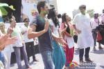 Ayushmann Khurrana, Gaelyn Mendonca, Pooja Salvi And Kunaal Roy Kapur play Holi at 'Zoom Holi Party'