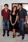 Behzaad Khan, Bipasha Basu, Shaleen Malhotra promotes 'Aatma' on the sets of Tv show Arjun
