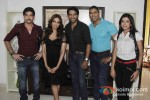 Behzaad Khan, Bipasha Basu, Shaleen Malhotra, Ketan Karande, Sheetal Shah promotes 'Aatma' on the sets of Tv show Arjun Pic 2