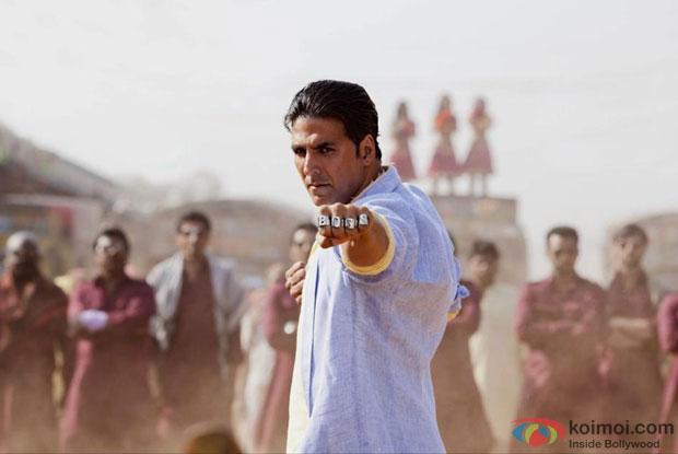 Akshay Kumar First Look in Boss Movie