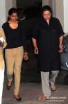 Celebs visit Sanjay Dutt's Residence Pic 3