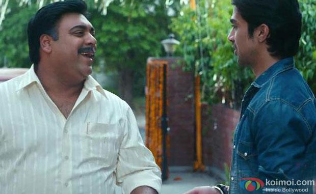 Ram Kapoor and Saqib Saleem in a still from Mere Dad Ki Maruti Movie