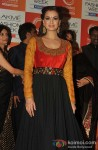 Dia Mirza attend Lakme Fashion Week 2013 Day 4