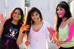 Ekta Jain, Manisha Kelkar And Chandi Perera play Holi at Kamal Air Compound