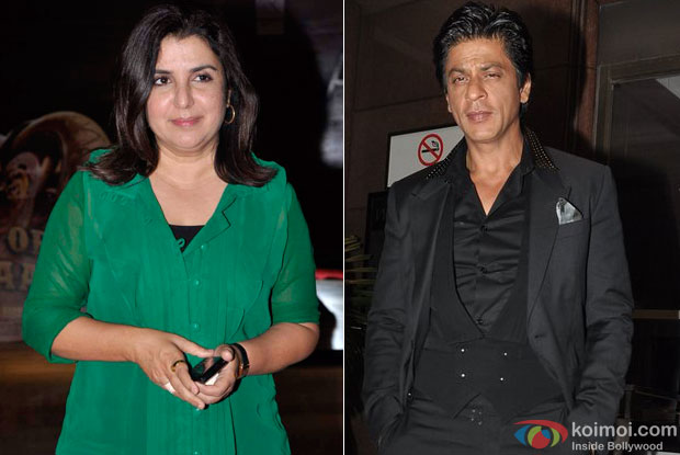 Farah Khan and Shah Rukh Khan