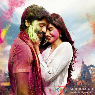 Dhanush and Sonam Kapoor in Raanjhnaa Movie First Look