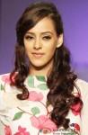 Hazel Keech sashays down the ramp at 'Lakme Fashion Week 2013' Pic 1