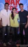 Jaaved Jafferi, Soha Ali Khan and Sharman Joshi at 'War Chhod Na Yaar' First Look Launch