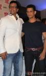 Jaaved Jafferi and Sharman Joshi at 'War Chhod Na Yaar' First Look Launch Pic 1