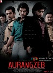 Jackie Shroff, Prithviraj Sukumaran, Arjun Kapoor and Rishi Kapoor in Aurangzeb Movie Poster