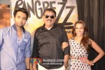 Jackky Bhagnani, Priyadarshan And Priya Anand promote 'Rangrezz' Movie