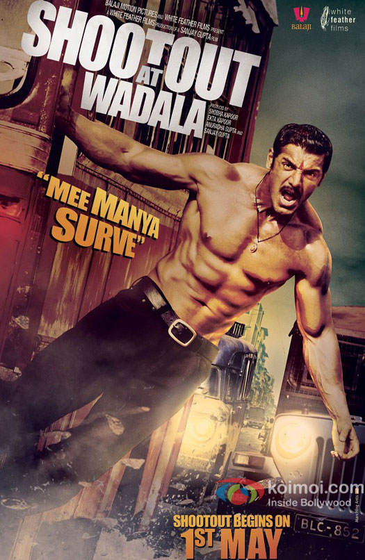 John Abraham Shootout At Wadala Movie Poster