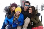 Kalki Koechlin, Aditya Roy Kapur, Ranbir Kapoor and Deepika Padukone in Yeh Jawaani Hai Deewani Movie Stills