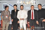 Karan Johar And Kamal Hassan at FICCI Frames 2013