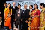 Karan Johar, Kareena Kapoor, Andy Birb, Soon Tae Park, Ramesh Sippy, Uday Shankar, Naina Lal Kidwai, Preneet Kaur at FICCI Frames 2013 Pic 1