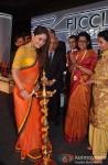Kareena Kapoor, Ramesh Sippy, Naina Lal Kidwai, Preneet Kaur at FICCI Frames 2013