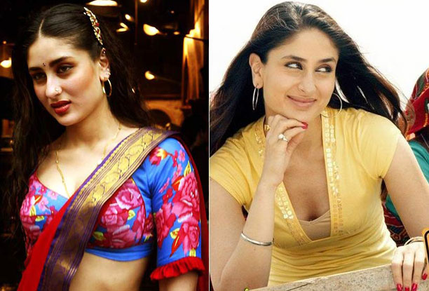 Kareena Kapoor in a still from Chameli and Jab We Met Movie